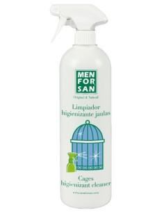 Limpiador higienizante  para jaulas