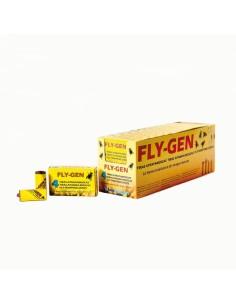 FLY-GEN tiras atrapamoscas estuche 4 udes.