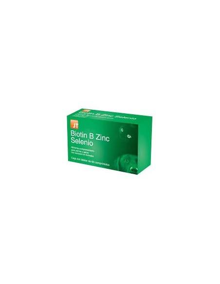BIOTIN B ZINC SELENIO 60CPD