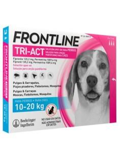 FRONTLINE TRI-ACT 10-20 KG.(M) 6 pipetas