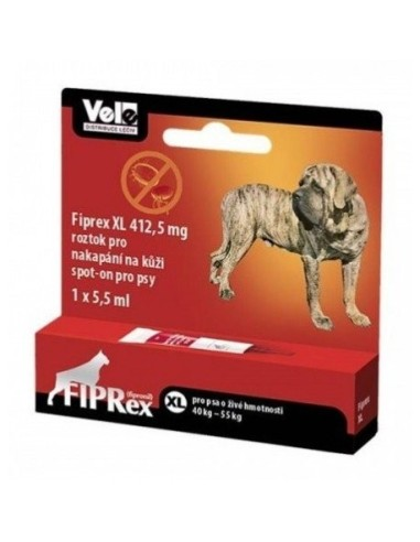 IPREX Perros XL 40-55kg 1 PIPETA
