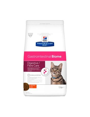 Hill's Gastrointestinal Biome Prescription Diet pienso para gatos 1,5kg
