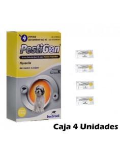 PESTIGON PERROS 2-10 KGS. 24 pipetas