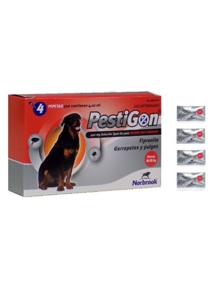 PESTIGON PERROS +40 KGS. (4 pipetas)