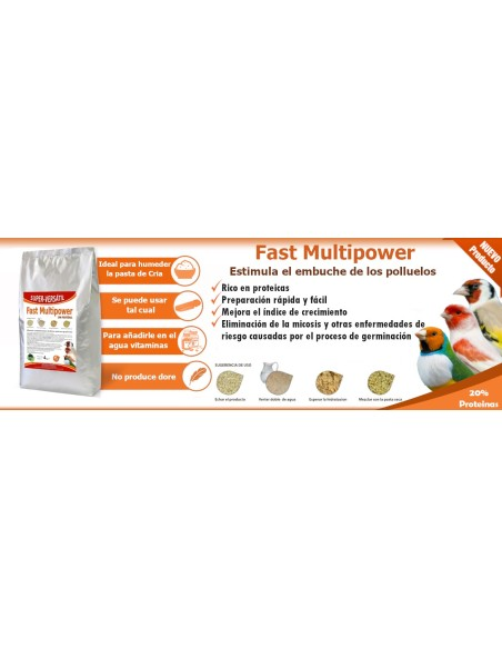 Fast Multipower 9kg (Sin Dore)