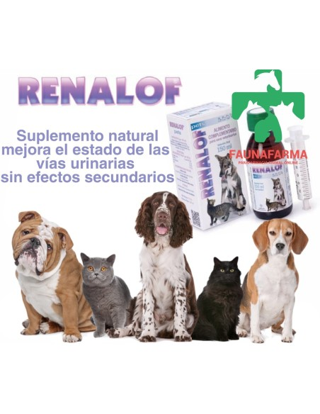 RENALOF PET S.O. 150 ML.