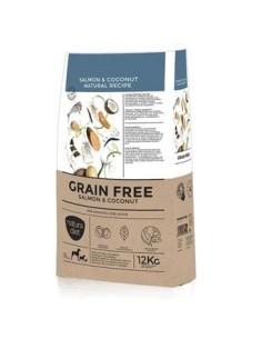 Natura diet GRAIN FREE Salmon & Coconut 12 kg