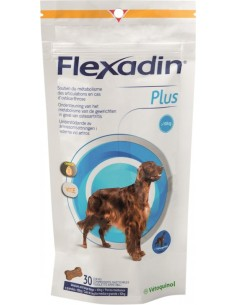 FLEXADIN PLUS MAXI R.MED.Y GRANDES 30CPD