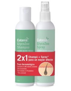 Pack Dermatológico CUTANIA  GlycoZoo 236 ml