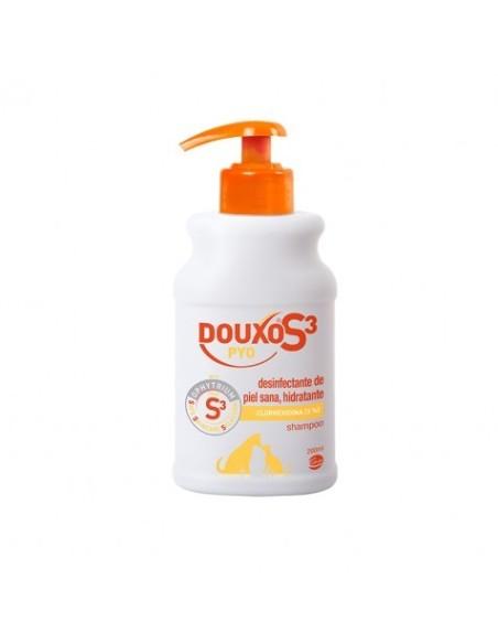 DOUXO S3 PYO CHAMPU 200ML Clorhexidina (3%)
