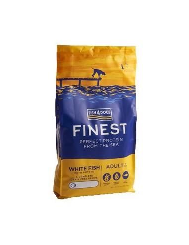 Finest Fish4Dogs Ocean White Fish - Croqueta Regular 1,5KG