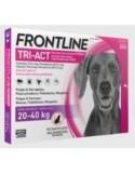 FRONTLINE TRI-ACT 20-40 KG.(L) 6 pipetas