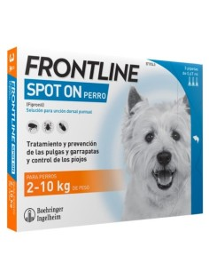 FRONTLINE SPOT ON PERROS 2 10 KG 6 PIPETAS
